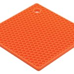 Orange Square Silicone Potholder