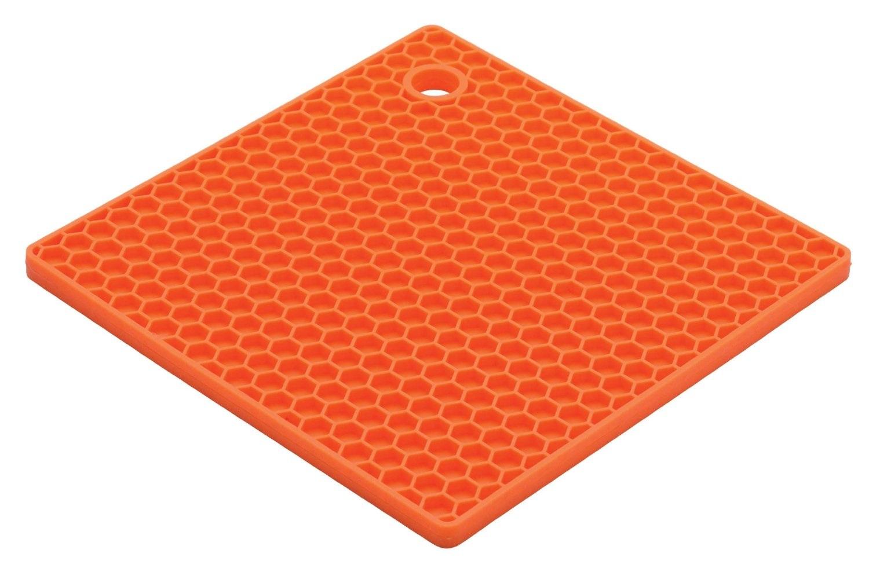 Orange Square Silicone Potholder