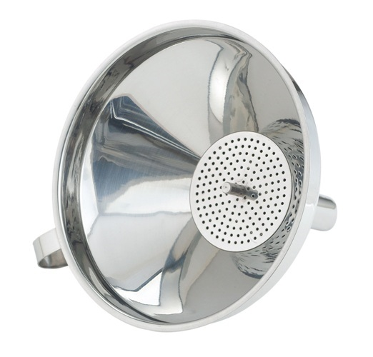 Stainless Steel 4″ Funnel with Filter