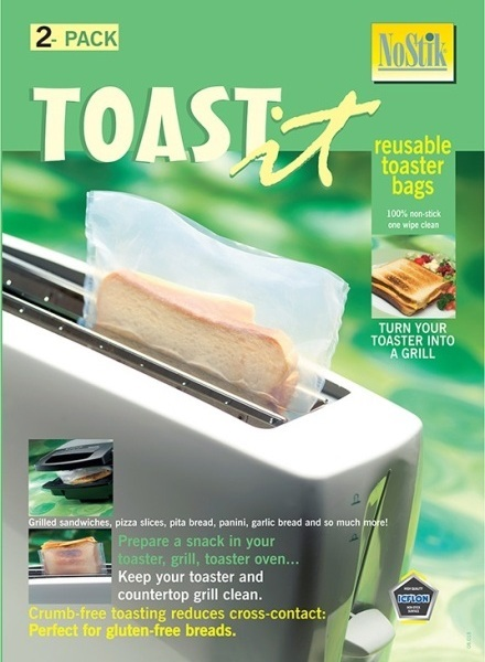 Reusable Toaster Bags Pack of 2