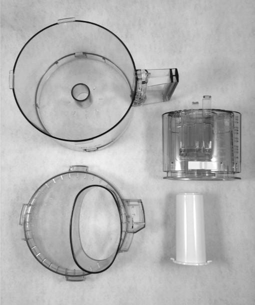 Cuisinart DLC-10 4-Piece Tritan Bowl Kit