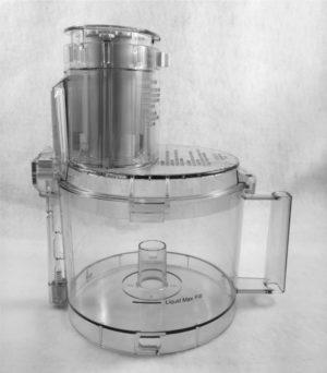 Cuisinart DLC-8 4-Piece Tritan Bowl Kit