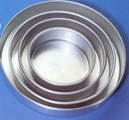 Heavy Aluminum 12″ x 2″ Cakepan