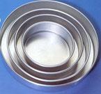 Heavy Aluminum 16″ x 2″ Cakepan