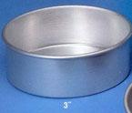 Heavy Aluminum 10″ x 3″ Cakepan