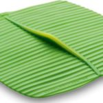 Square Banana Leaf Silicone Lid 10″ x 10″
