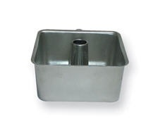 Square Tube Pan With Removable Bottom