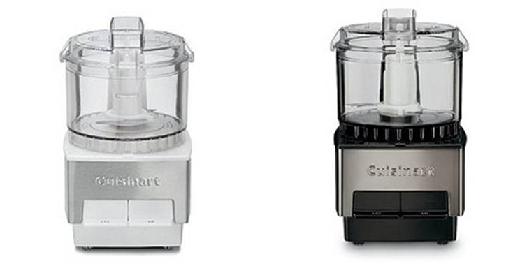 Miniprep 1 cup Food Processors Chrome