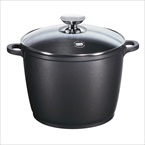 Berndes Signocast 7 Quart Stockpot With Glass Lid