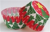 Christmas Tree and Star Bakecups Set of 32