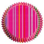 Snappy Stripes Regular Paper Bake Cups Pack of 50