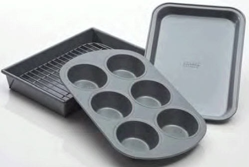 4-Piece Toaster Oven Set