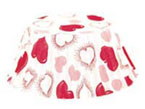 Heart Petit Four Paper Bakecups Pack of 100