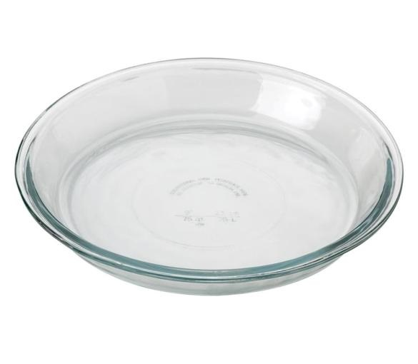 9″ Regular Anchor Hocking Glass Pie Plate