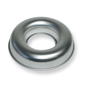 6 Cup 10″ Tinned Steel Savarin Mold