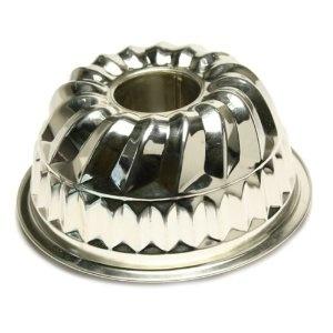 10 Cup 9″ Tinned Steel Kugelhopf Pan