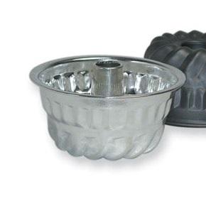 4 Cup 6.25″ Tinned Steel Kugelhopf Pan