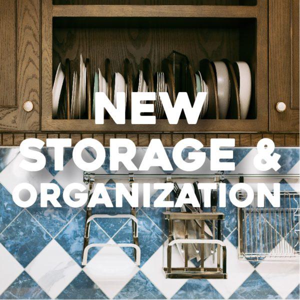 New Kitchen Storage and Organization