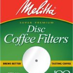Melitta 3.5″ Flat Disc Filters 100ct