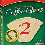 Melitta #2 Filters Unbleached 40ct
