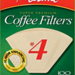 Melitta #4 Filters Unbleached 100 ct