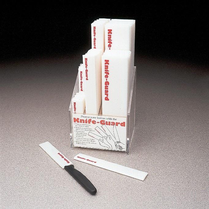 6.5″ x 1″ White Plastic Knife Guard