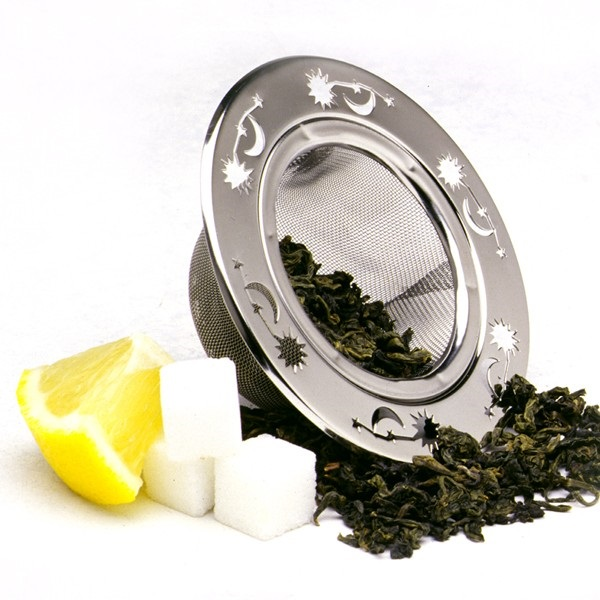 Stainless Steel Decorative Tea Strainer