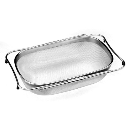 Rectangular Stainless Over-The Sink Colander