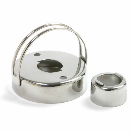 2.75″ Stainless Steel Donut Cutter with Removable Middle