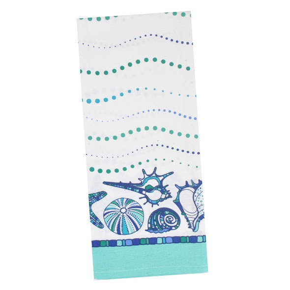 Blue Sea Printed Towel
