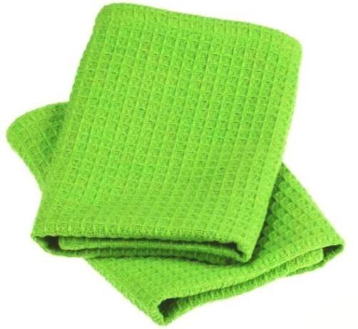 Lime Zest Waffle Weave Dishcloths Set of 2