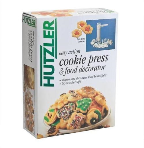 Plastic Cookie Press and Decorating Set