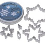 Snowflake Cutters Tin