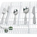 White Wire Utensil Tray