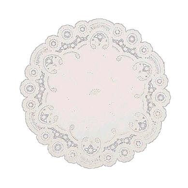 12″ White Paper Doilies Pack of 12