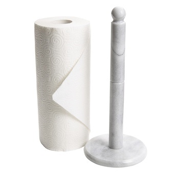 Marble Upright Counter Paper Towel Holder