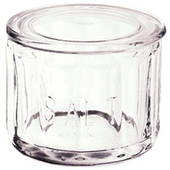 Glass Fire Salt Cellar
