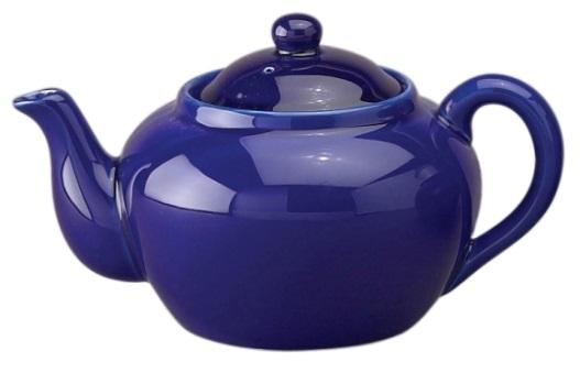 3 Cup Cobalt Blue Teapot