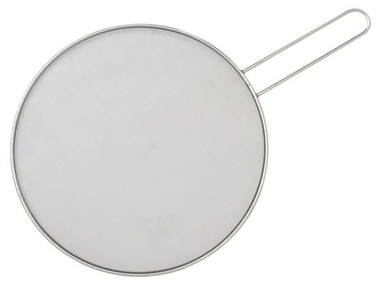 13″ Stainless Splatter Shield with Loop Handle