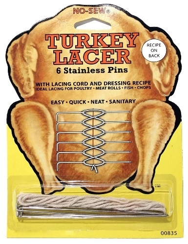 Stainless Steel Turkey Lacer Pins with String