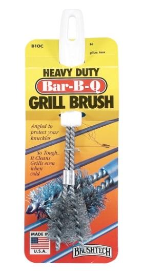 Heavy Duty V Shape Grill Brush