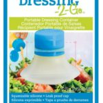 Silicone Portable Salad Dressing-To-Go Container