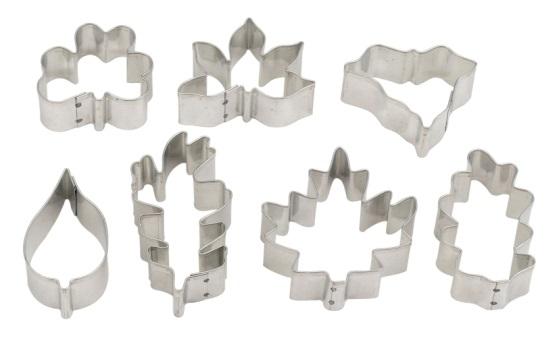 7-Piece Leaf Cutters Set