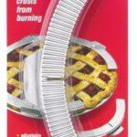 Aluminum Pie Crust Shields Set of 5