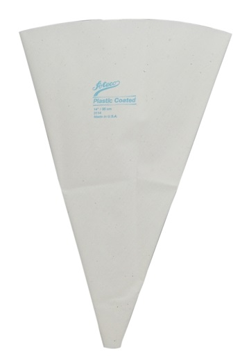 14″ Plastic Lined Canvas Pastry Bag