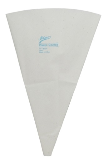 18″ Plastic Lined Canvas Pastry Bag