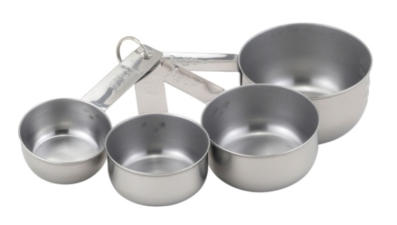Basic Stainless Measuring Cups