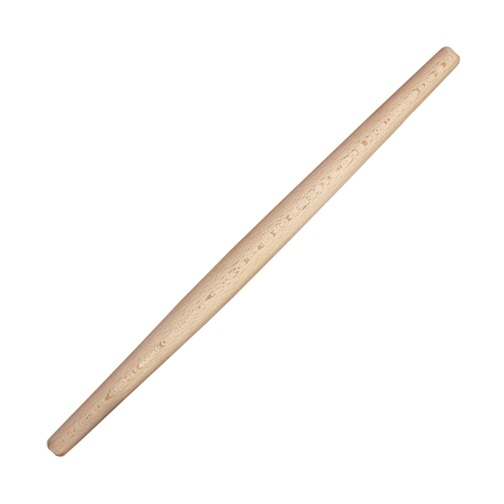 21″ x 1.25 Wooden Tapered French Rolling Pin