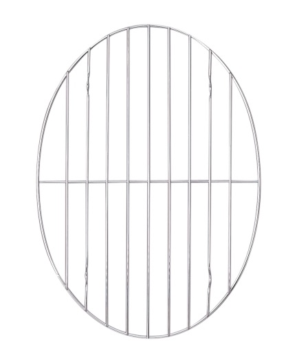 8.5″ x 11.75″ Oval Chrome Roast Rack