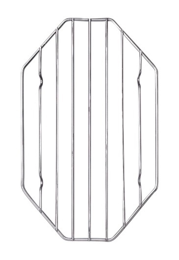6″ x 10″ Octagonal Chrome Roast Rack